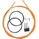 Shimano Road Schaltzug-Set polymerbeschichtet orange